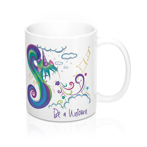 Unicorn Girl Mug 11oz