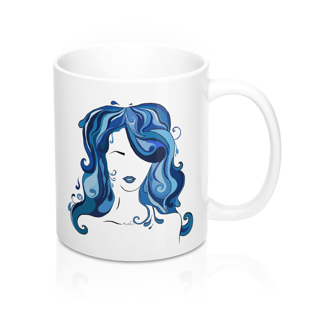 Water Girl Mug 11oz