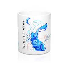 Winter Girl Mug 11oz