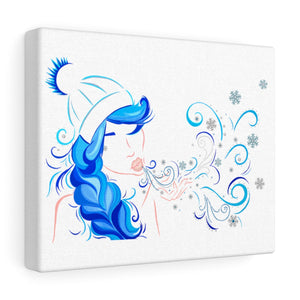 Winter Girl Canvas (Small)