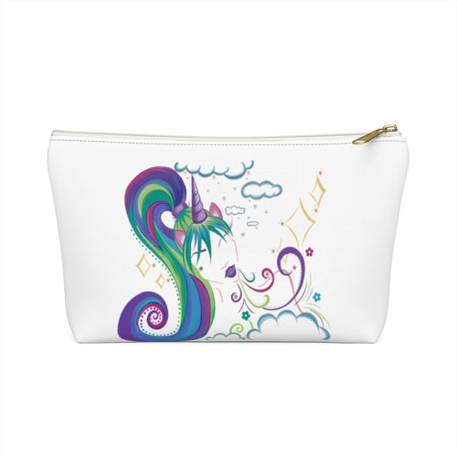 Unicorn Girl Accessory Pouch w T-bottom