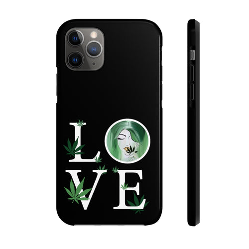 Love + MJ iPhone Case