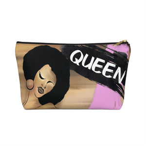 Ebony Queen Accessory Pouch w T-bottom : Queen Pink