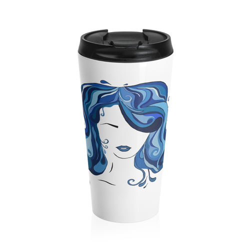 Water Girl Stainless Steel Travel Mug