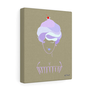 Cupcake Girl Canvas (Small)