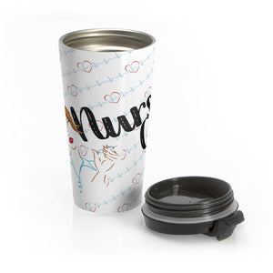 Nurse Girl Limited Stainless Steel Travel Mug