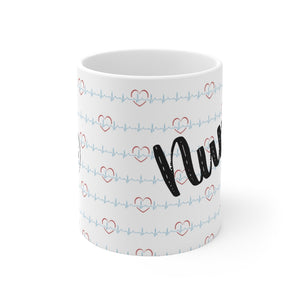 Nurse Girl Coffee Mug 11oz