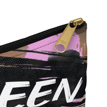 Ebony Queen Accessory Pouch : Queen Pink