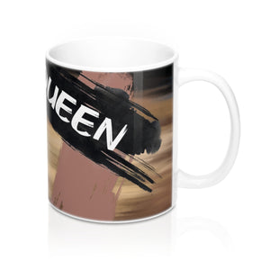 Ebony Queen Mug 11oz: Brown