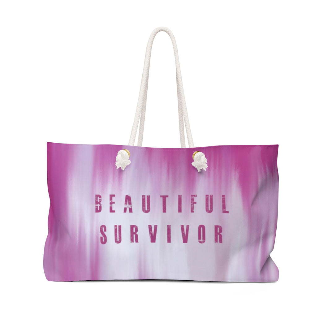 Beautiful Survivor Weekender Bag