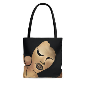 Ebony Queen Tote Bag: EQ