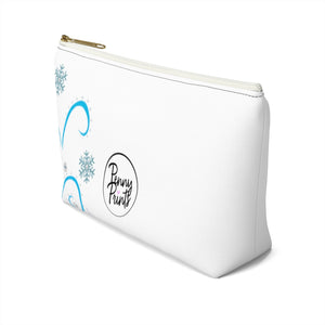 Winter Girl Accessory Pouch w T-bottom