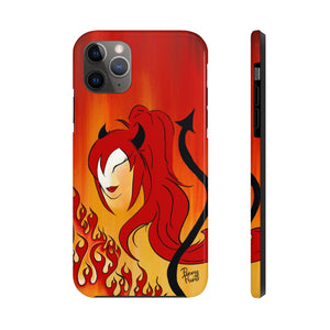 She Devil Girl iPhone Case