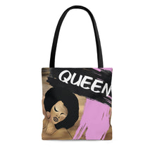 Ebony Queen Tote Bag: Queen! Pink