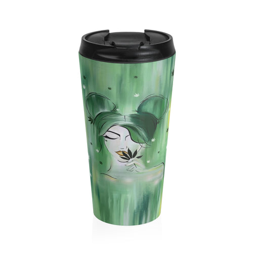 Mary Jane Stainless Steel Travel Mug