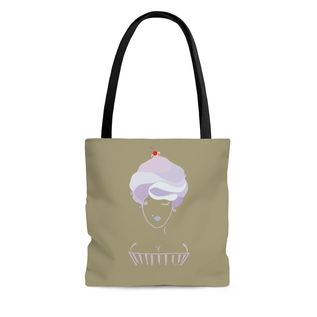 Cupcake Girl Tote Bag