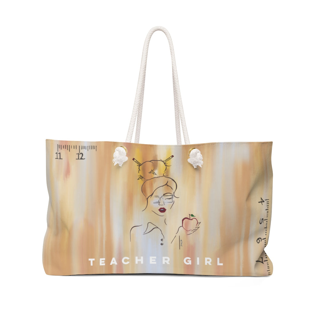 Teacher Girl Weekender Bag
