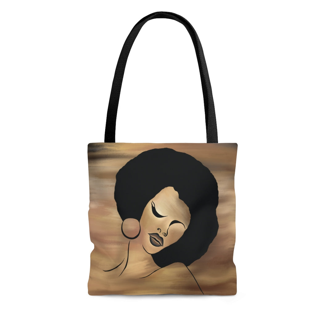 Ebony Queen Tote Bag