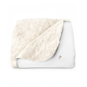 Morning Girl Sherpa Fleece Blanket