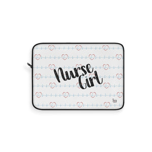 Nurse Girl Laptop Sleeve