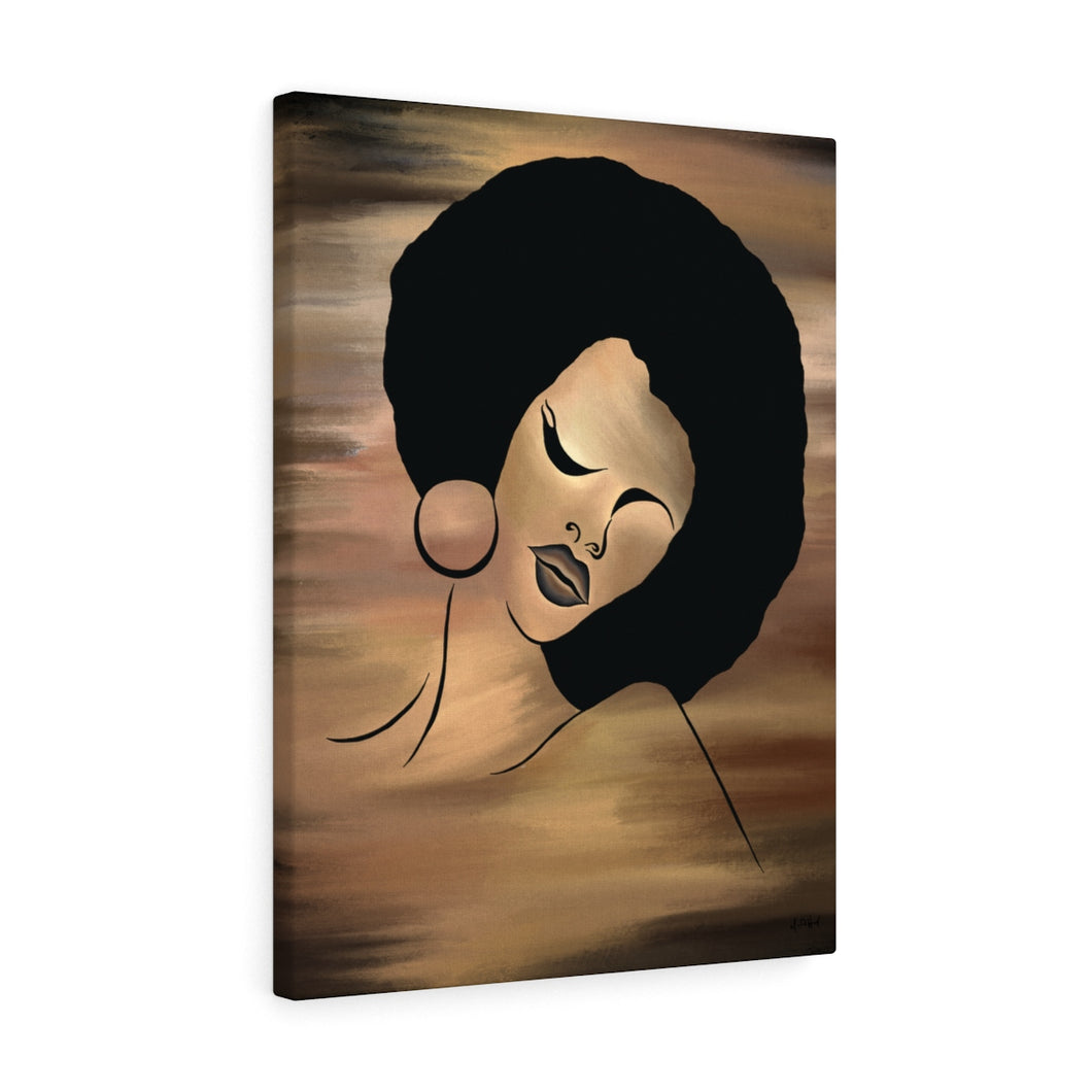Ebony Queen Canvas (Large)