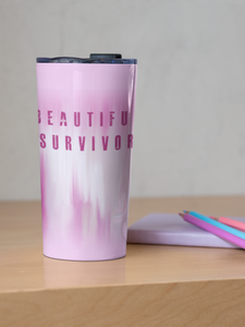 Beautiful Survivor Steel Travel Mug