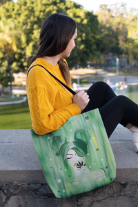 Mary Jane Girl Tote Bag