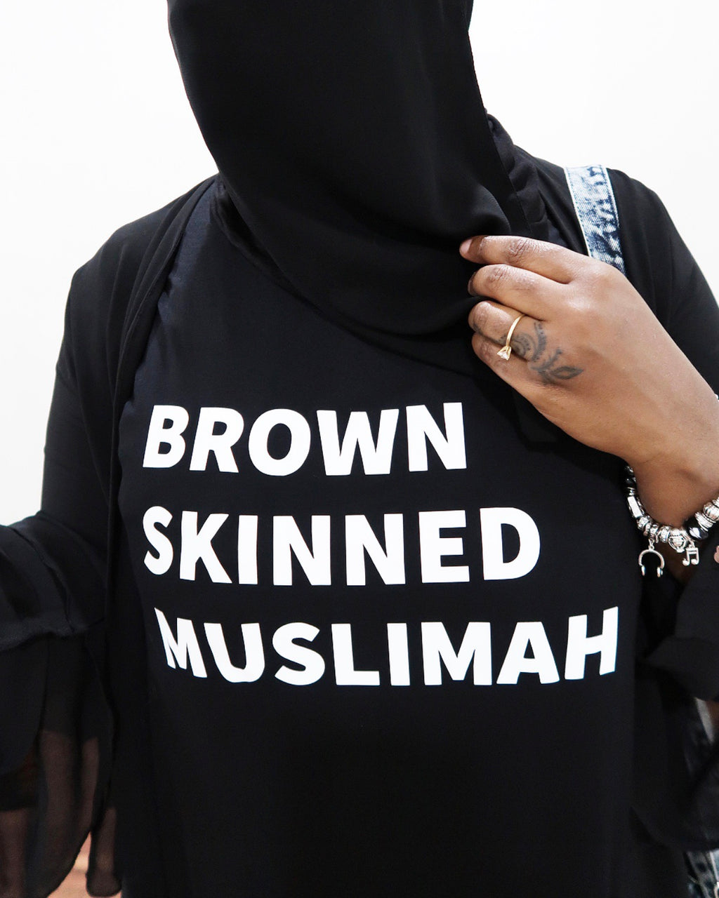 BROWN SKINNED MUSLIMAH Graphic Top