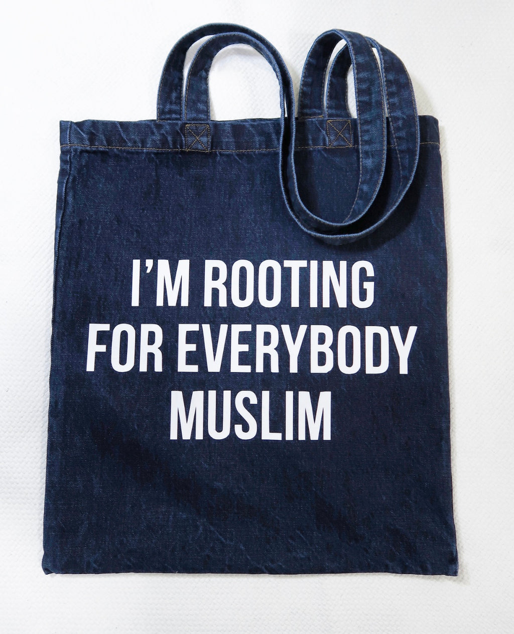 Rooting For Everybody Muslim Jean Tote