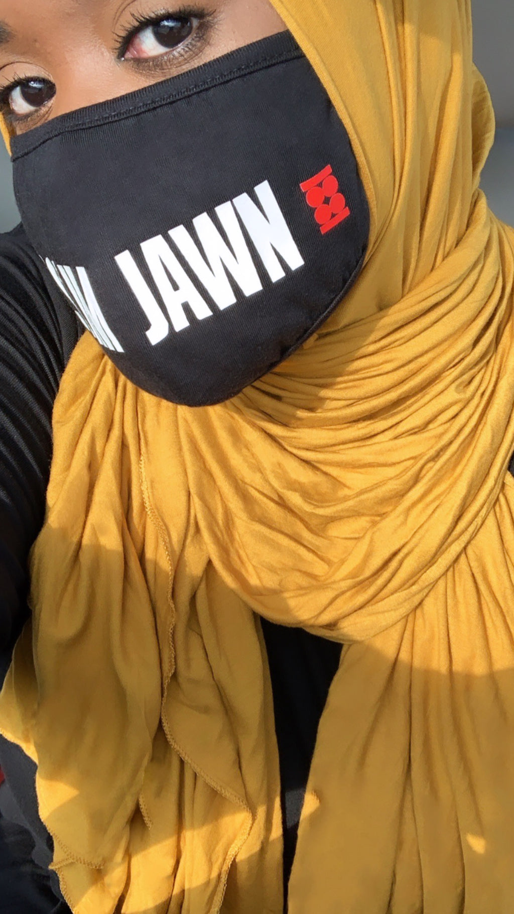Golden Yellow Premium Jersey Hijab