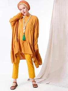 Sun Kissed High Low Tunic