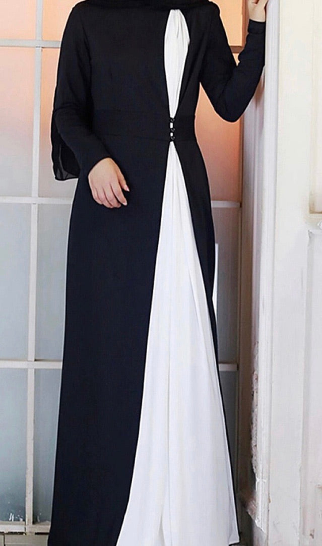 Gathered Waistline Abaya