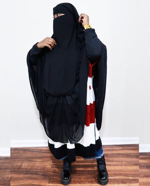 3 Layer Fab Closure Niqab