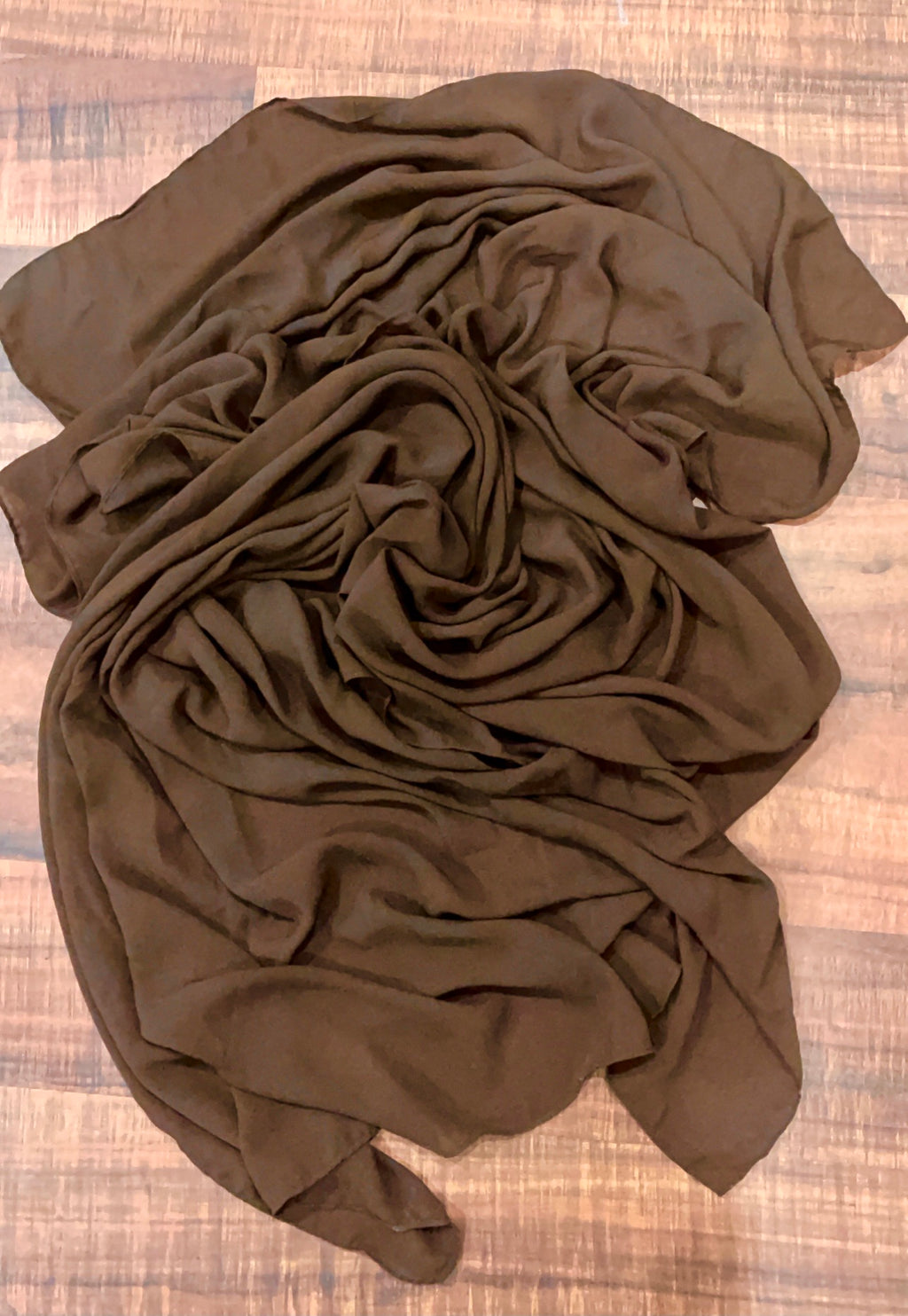 Brown Rectangle Hijab/Shayla *Extra Long