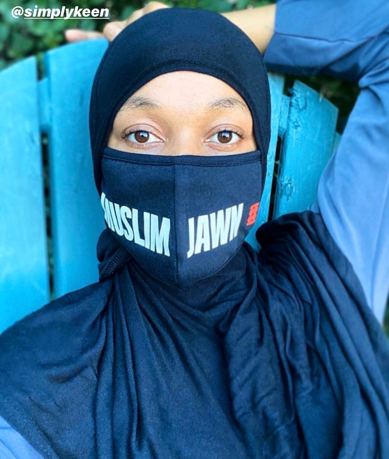 MUSLIM JAWN Face Mask