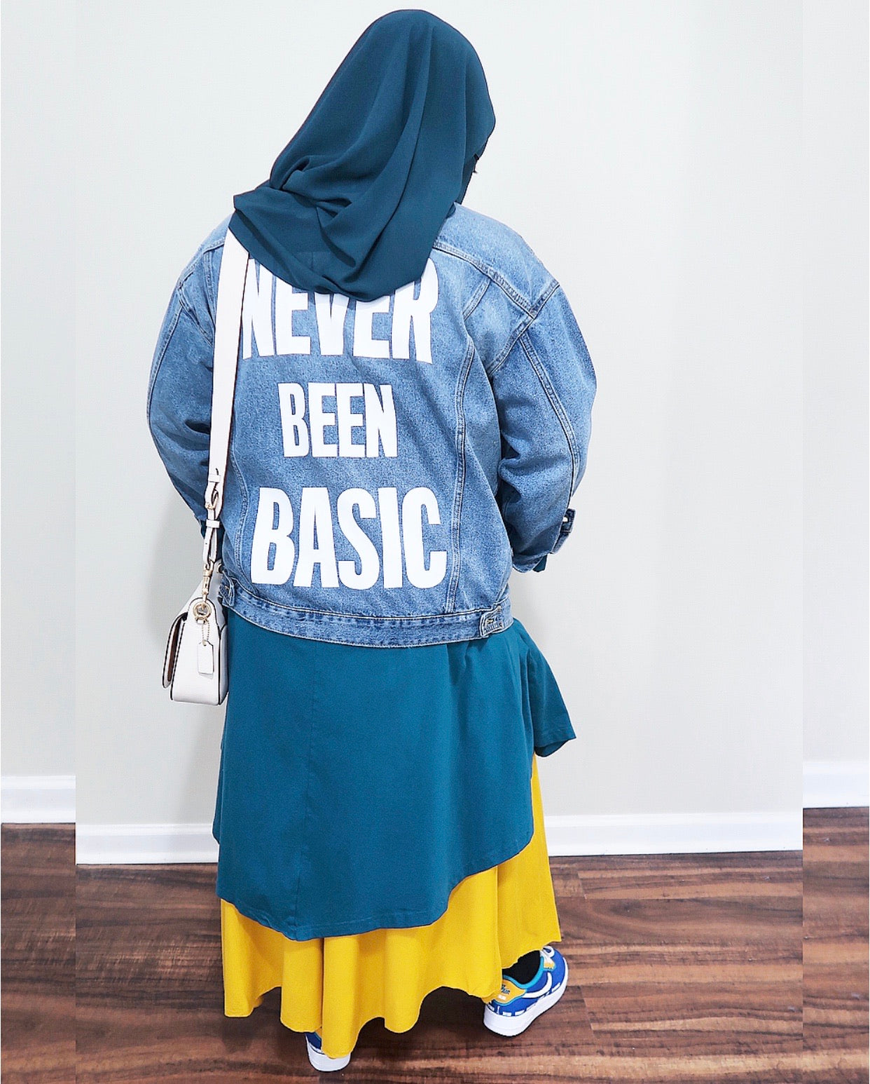 """NEVER BEEN BASIC"" Jean Jacket"