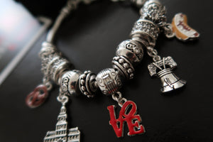 "The ""Philly Special"" Charm Bracelet"