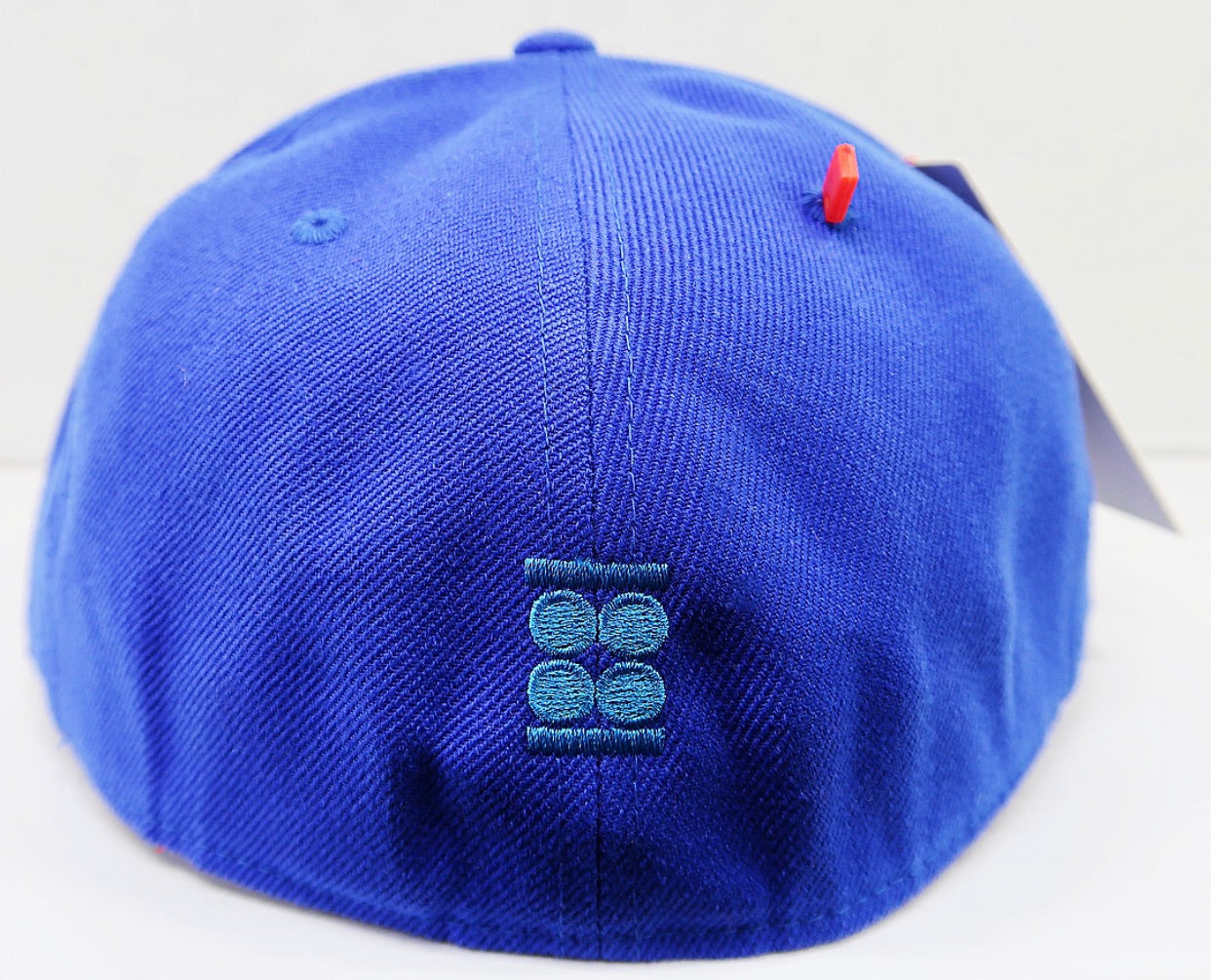 """Believe"" Graphic Fitted Hat (WHITE, CHERRY RED & ICE BLUE )"