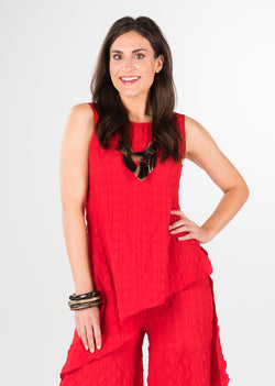 Cascade Sleeveless Tunic