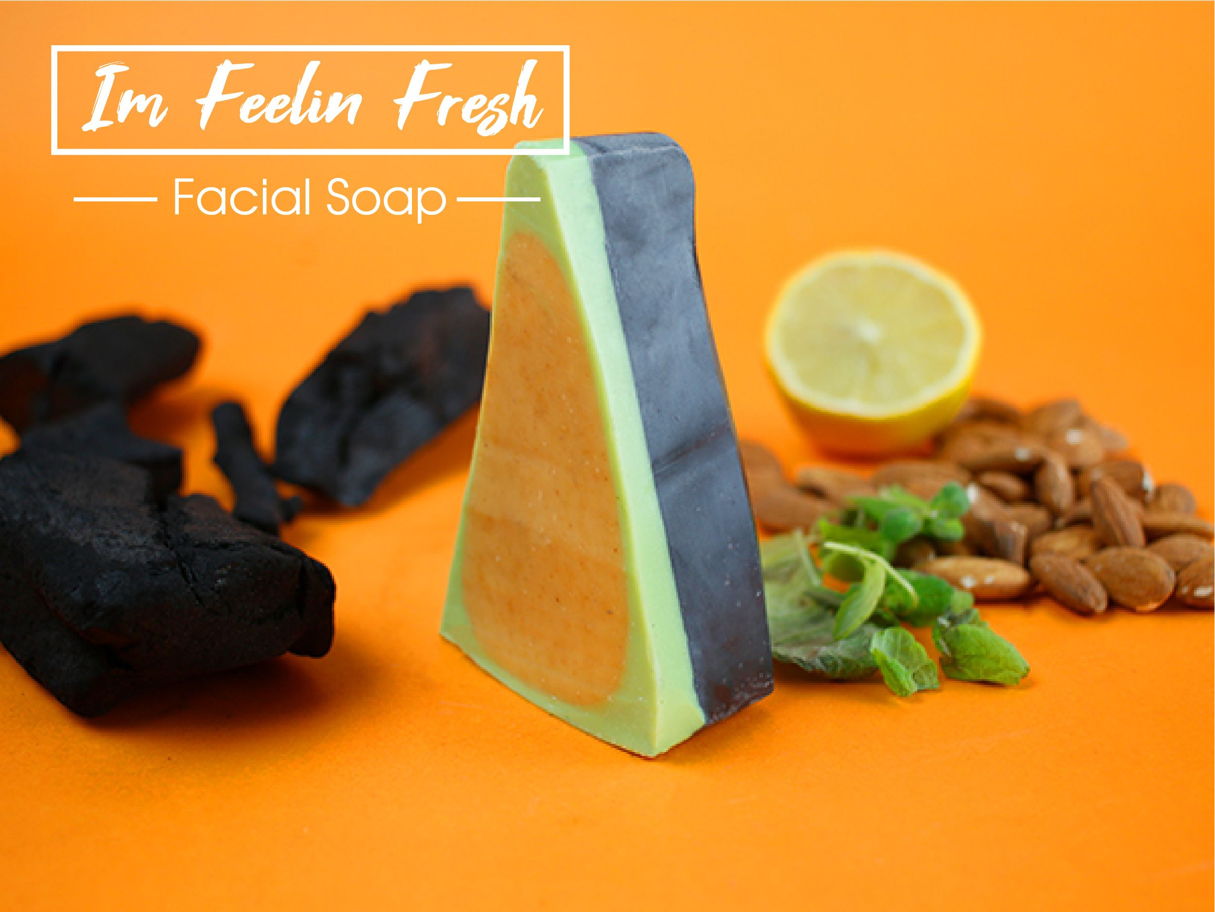 I'm feelin fresh facial soap
