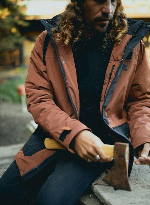 Parka Outdoor Color Block