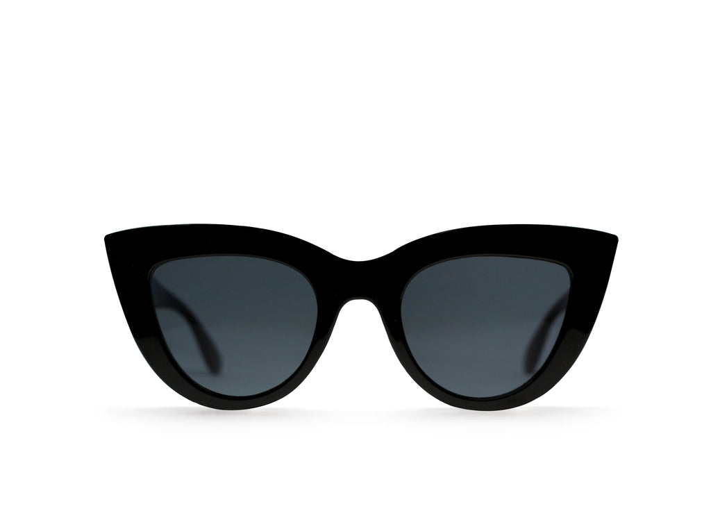 The Nina style is an elegant but soft cat-eye shape.