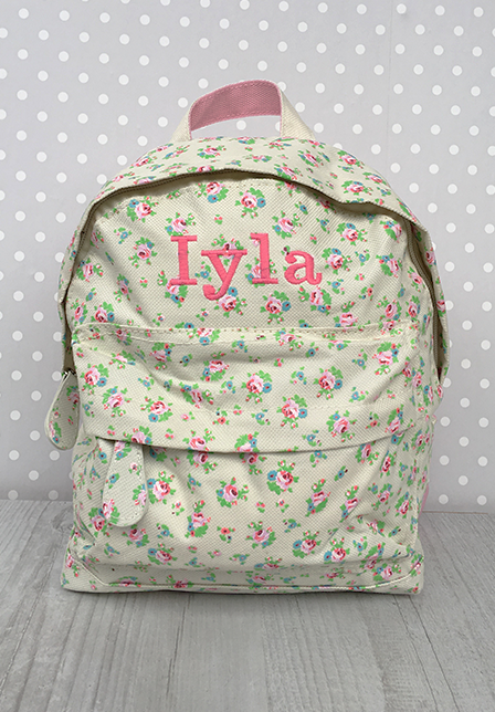Personalised Embroidered Backpacks