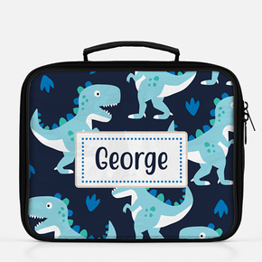 Personalised Dinosaur Lunch Bag | Custom Kids Insulated Cool Bag