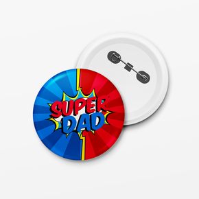 Super Dad Father's Day Badge