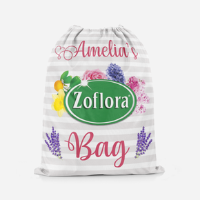 Zoflora Addict Drawstring Tote Bag