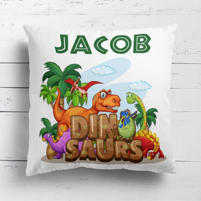 Dinosaur Land Cushion
