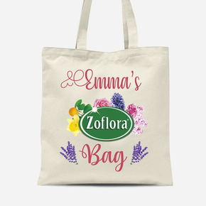 Zoflora Addict Canvas Tote Bag