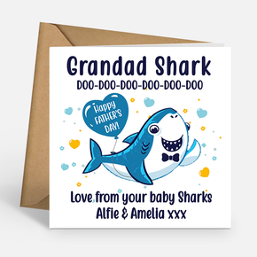 Grandad Shark Father's Day Card