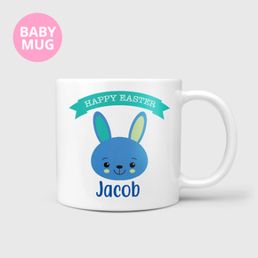 Happy Easter Bunny Kids Baby Boys Mug